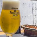 魚匠 梶 - 日本酒を選んでいる間に、ビール