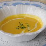 シャトー文雅 - 料理写真:パンプキンスープ