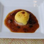 シャトー文雅 - フレッシュ帆立貝のポテトチーズ焼き