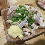 浅草 豚とことん - ガツ刺し 430円