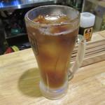 浅草 豚とことん - ウーロン茶