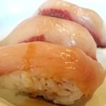 Chikushinotempainosatoshizenshokubuffehimehotaru - 自然食ビュッフェ姫蛍 6月ディナー限定のかんぱち♪プリプリでしたよ~。fromグリーンロール