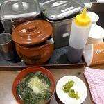 紅とん - 味噌汁はセルフ