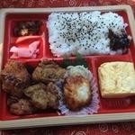 サークルK - 嗚呼!征平のこだわり鶏からあげ弁当(550円)