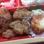 サークルK - 嗚呼!征平のこだわり鶏からあげ弁当(550円)からあげ