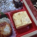 サークルK - 嗚呼!征平のこだわり鶏からあげ弁当(550円)出汁巻き
