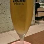 伊達の牛たん本舗 KITTE グランシェ店 - 生ビール小(330円)