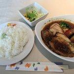 イチロク - チキンベース、炙りチャーシュー+野菜2015.06.10