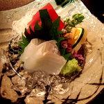 日本料理 対い鶴 - お造り。
