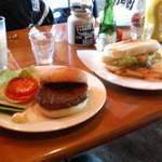 STRONG BOSS SALOON - フィッシュバーガー・ハンバーガー