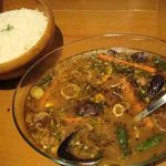 soupcurry&cafe SPARK - 大盛りチキンカレー