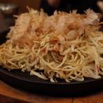 G麺 - G麺のつけ麺焼そば(15.03)