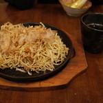 G麺 - G麺のつけ麺焼そば700円(15.03)