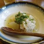 食堂ペスカバ - 飛び魚のつみれ   600円