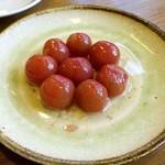 食堂ペスカバ - トマトのマリネ   500円