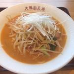 大阪王将 - 極太味噌ラーメン(税込¥760)
