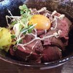 9プランチャ - ローストビーフ丼780円