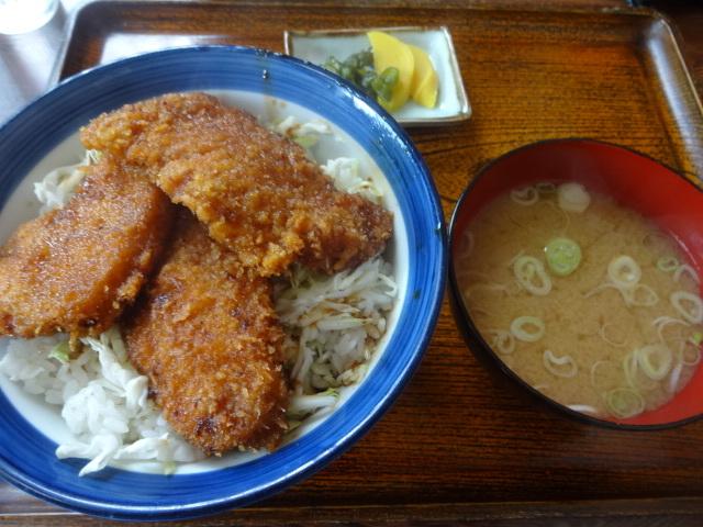 押田庵 - ソースかつ丼¥800♪