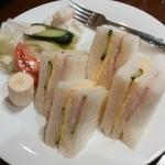 まるやまコーヒーショップ - サンドイッチ