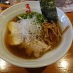 麺や 亀陣 - コーチン鶏そば醤油750円