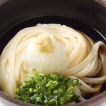 中井麺処 うどんそば専門コーナー - ぶっかけうどん380円