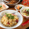 台湾腸詰炒飯セット