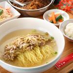 台湾高菜芯と細切豚肉のさっぱりヌードルセット