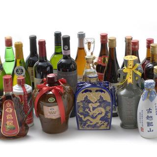 紹興酒はもちろん、厳選したワインもございます