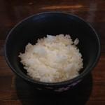 麺や 桜風 - 小ライス100円