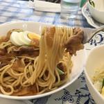 喫茶レストラン丘 - すきやきスパゲッティ 何気にうまい(o^^o)
