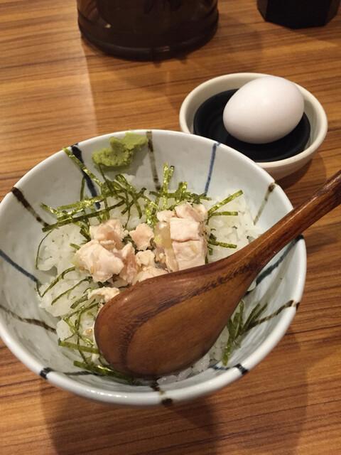 麺屋 武一 - ささみユッケご飯