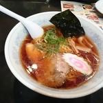 としまや - 2015年3月 ラーメン(醤油)+餃子 1000円