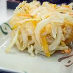 さぬき麺業 - かき揚げアップ