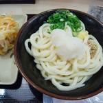 さぬき麺業 - かき揚げと生醤油・大盛