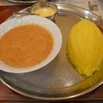 ターバン - 野菜カレーセット