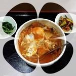 韓国家庭料理 ソウル家 - 大好きなキムチうどん