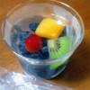 石井果実店 - 料理写真:フルーツinゼリー ブルーベリー 400円
