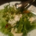 旬菜旬肴 きらり - 豆腐のサラダ