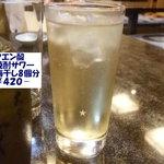 ととまる - クエン酸焼酎サワ―420円