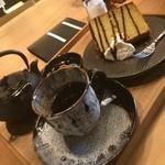 いほ里 - 急須にコーヒー2杯分いただける温もりあるコーヒー屋!!