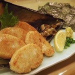 和食処 一隆 - 平貝の磯辺焼き