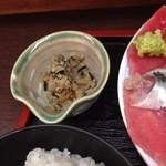 いわし料理 すゞ太郎 - おからとヒジキの小鉢