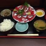 いわし料理 すゞ太郎 - いわし・マグロ中落ち定食960円