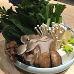 京都 瓢斗 - 京野菜盛り合わせ。