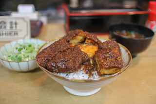 味処 叶 - 元祖味噌カツ丼(味噌汁付)☆