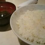 焼肉レストランソウル - ごはんとスープ