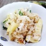 一二三庵 - 鯛と筍の土鍋ご飯