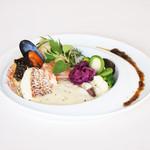 レストラン ラグラース - 2015夏 魚介類の素焼き 和風ソース