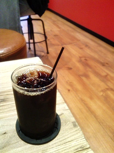 アンモナイト - ドリップコーヒーのアイスコーヒー