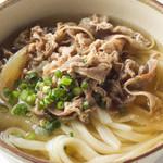 中井麺宿 - 肉うどん    650円